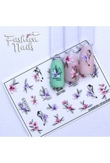 Fashion Nails Nail Wraps 3D