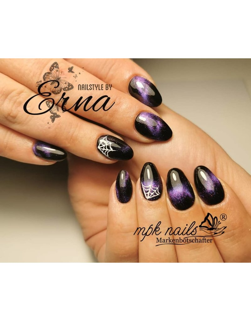 MPK Nails® 5D Cat Eye Farbgel Enigmatic Purple semi-opak