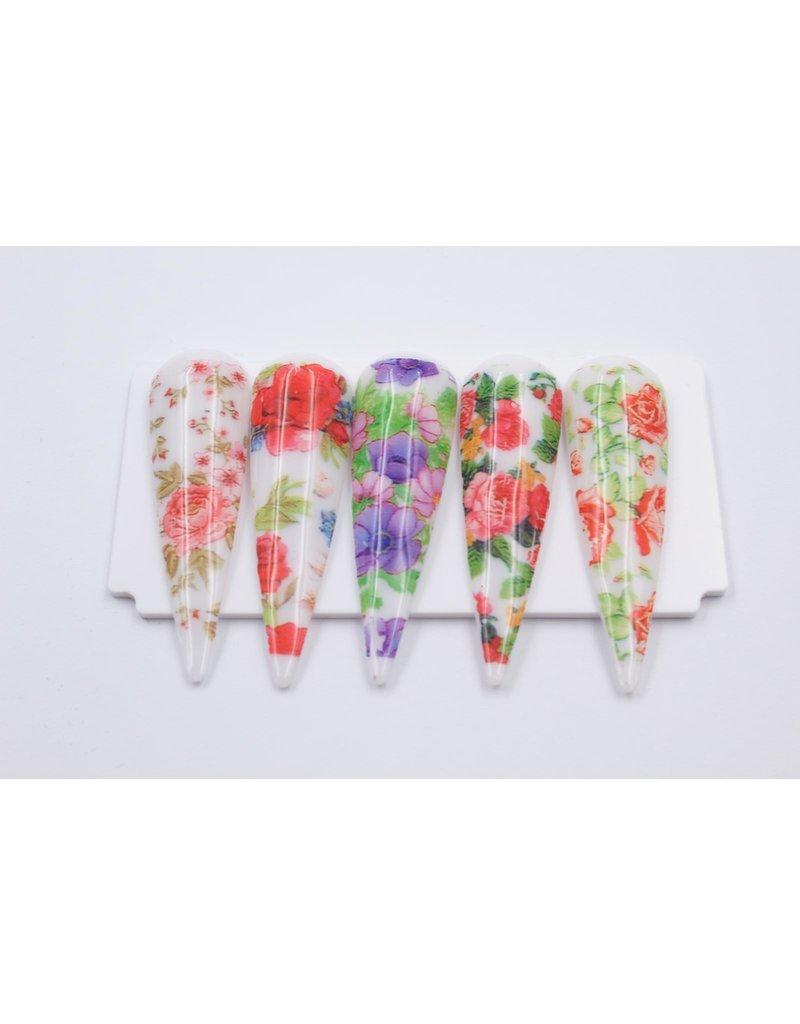 MPK Nails® 10x Nailart Transfer Folie in Box #1