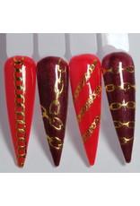 Nail Sticker D-07 gold