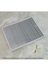 Metallic Nail Sticker Stripes silber