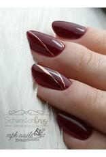 Metallic Nail Sticker Stripes rosegold