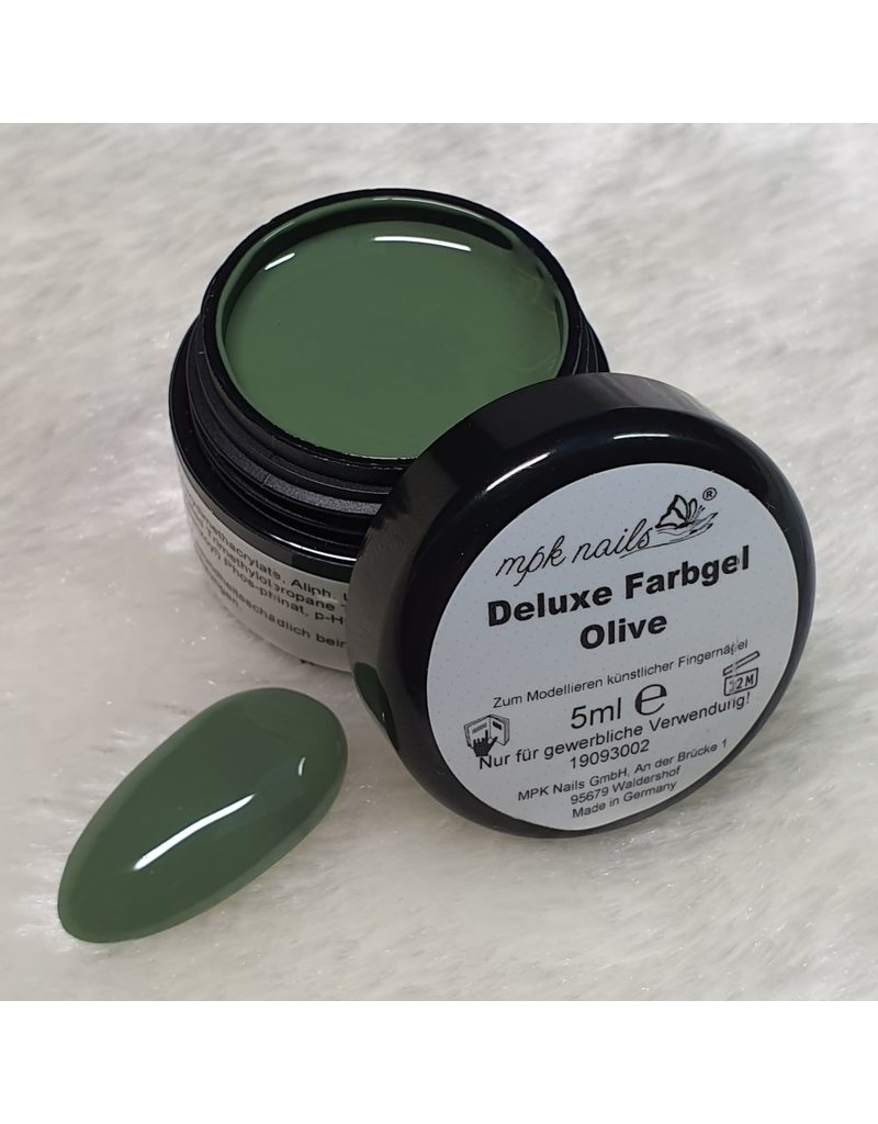 "MPK Nails® Deluxe Farbgel ""Olive"""