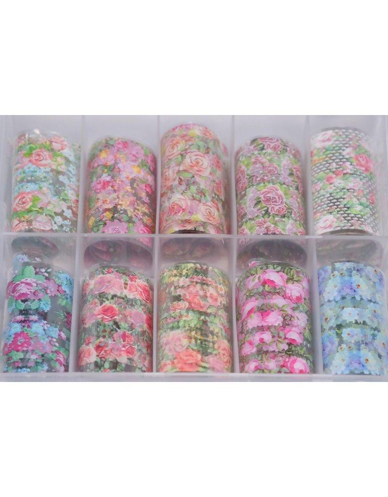 MPK Nails® 10x Nailart Transfer Folie in Box #29