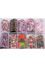 MPK Nails® 10x Nailart Transfer Folie in Box #27
