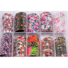 MPK Nails® 10x Nailart Transfer Folie in Box #27