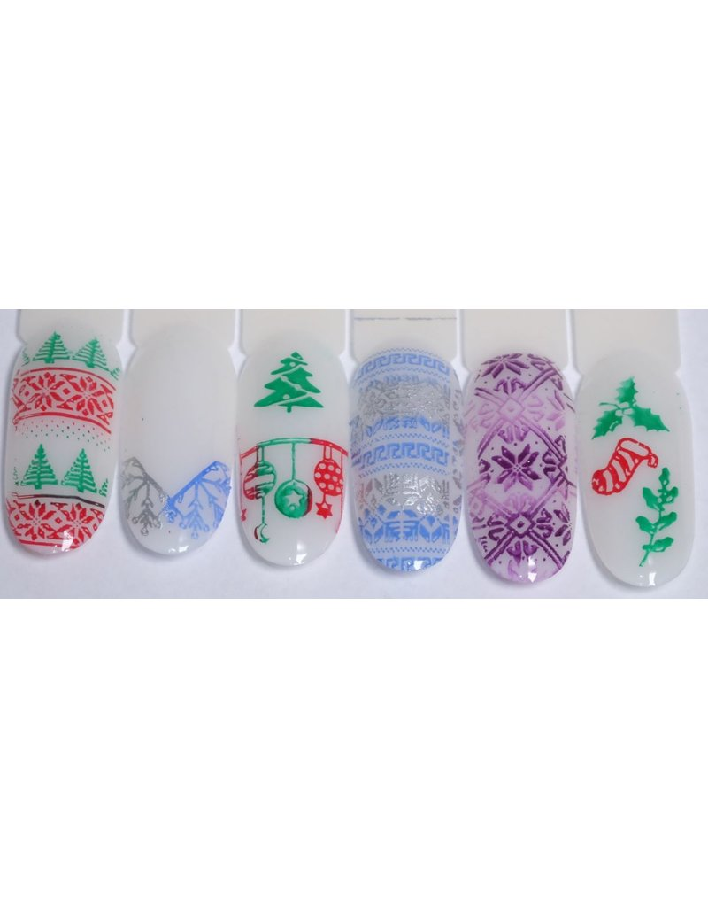 MPK Nails® Stamping Schablone XY-03