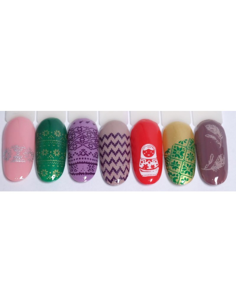 MPK Nails® Stamping Schablone XY-07