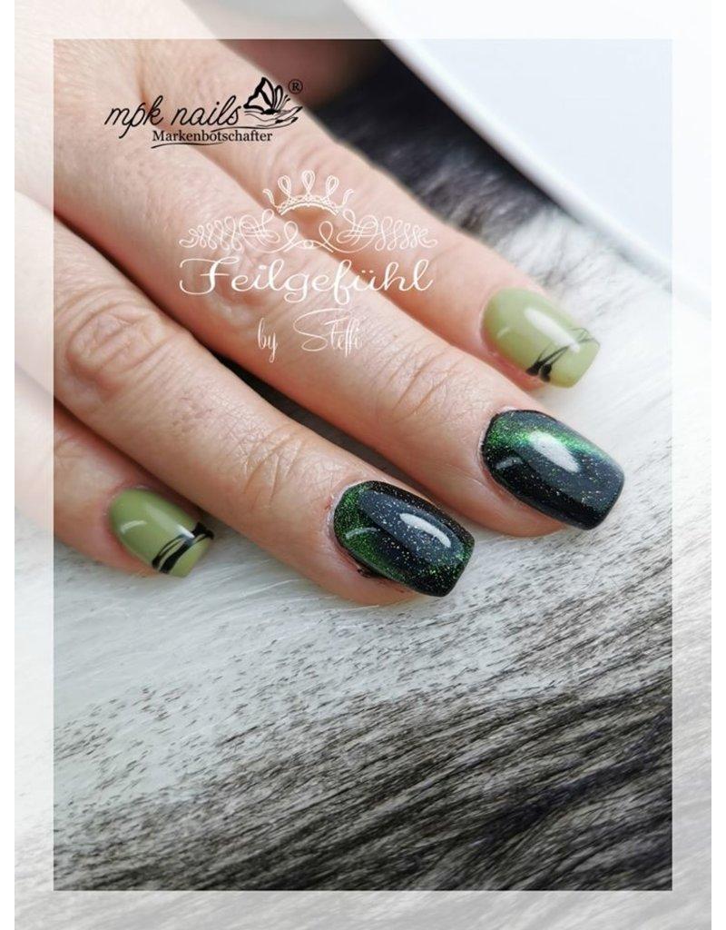Magic 5D Cat Eye Farbgel Enigmatic Green semi
