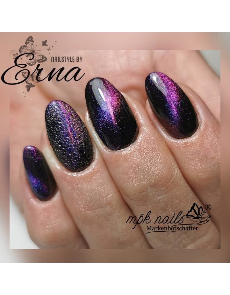 5D Cat Eye Farbgel Enigmatic Purple semi-opak