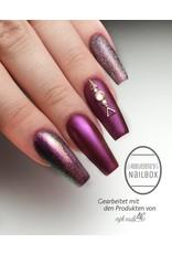 Chrome Pigment Purple Flower