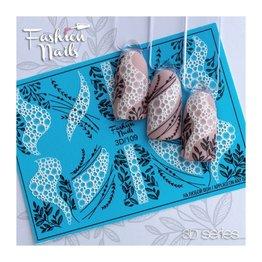 Fashion Nails Nail Wraps 3D 109