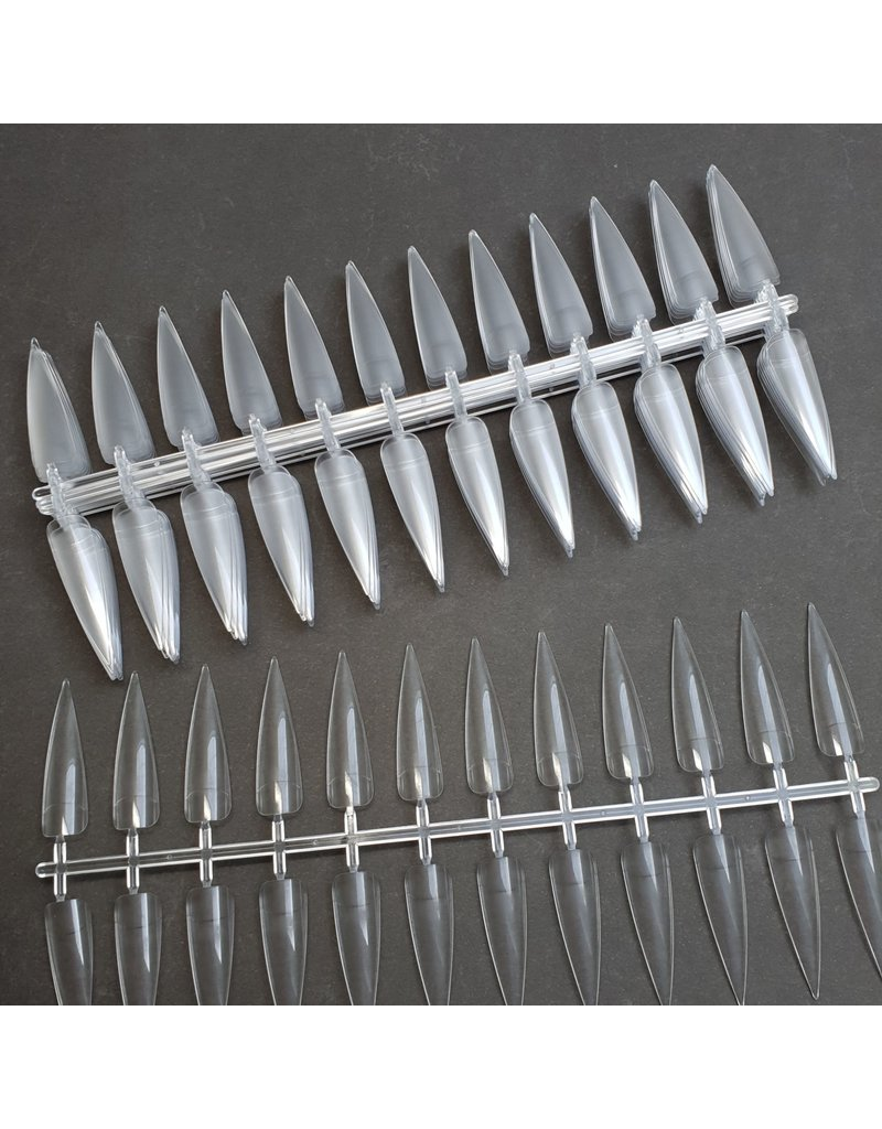 MPK Nails® 220x Mustertips Stiletto - klar