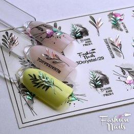 Fashion Nails Nail Wraps 3DC 29