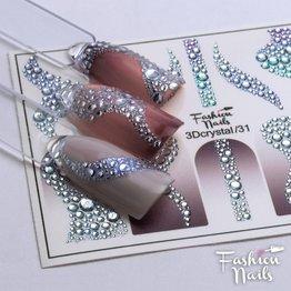 Fashion Nails Nail Wraps 3DC 31