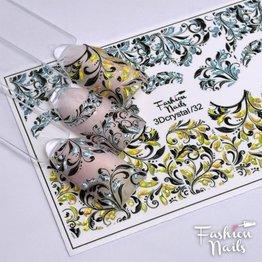 Fashion Nails Nail Wraps 3DC 32