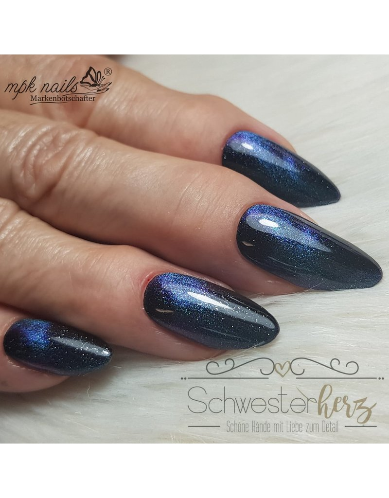 5D Cat Eye Farbgel Enigmatic Turquoise semi-opak