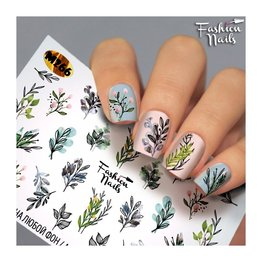 Fashion Nails Nail Wraps metallic m266