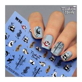 Fashion Nails Nail Wraps Weisse Tresse W56