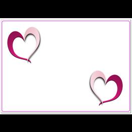 MPK Nails® Arbeitsunterlage 2 Hearts