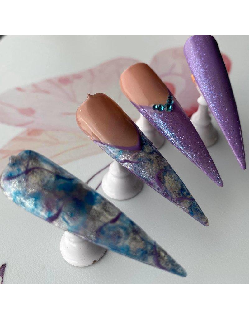 Ink Nail Color Pearl Türkis