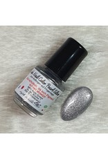 Ink Nail Color Pearl Silber