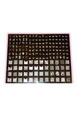 XXL Stamping Schablone 02
