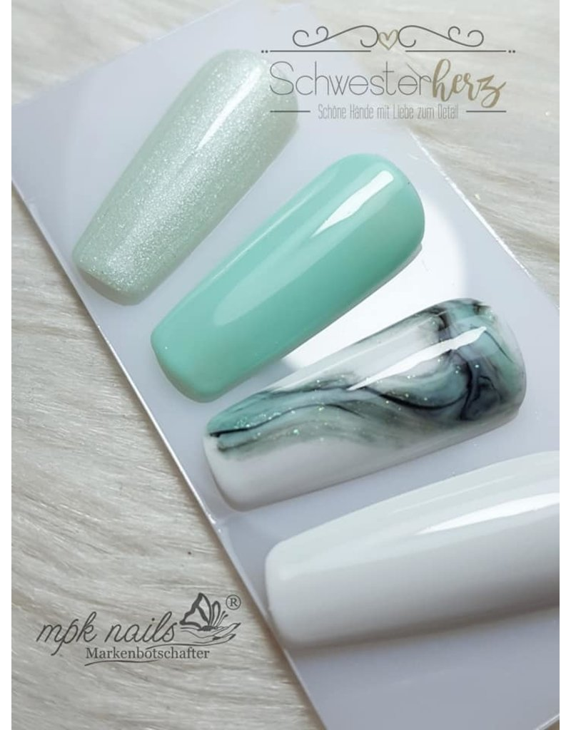 Shimmering Farbgel A Hint of Mint