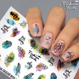 Nail Wraps metallic m275