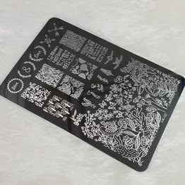 XL Stamping Schablone HK-02