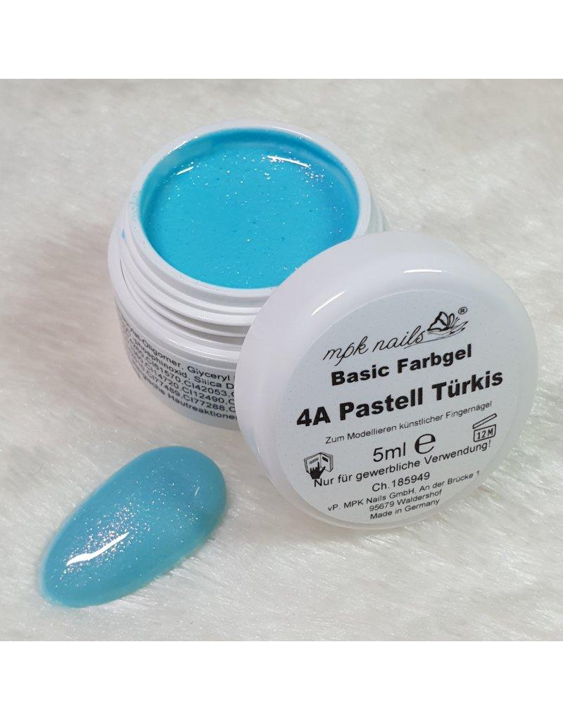 Basic Farbgel 04A - Pastell Türkis