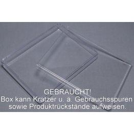 Leerbox aus Acryl - GEBRAUCHT