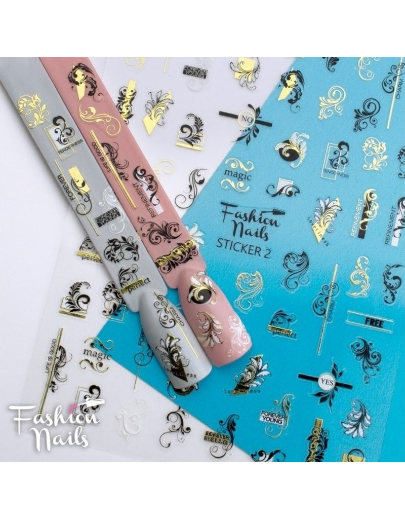 Fashion Nail Sticker ST02