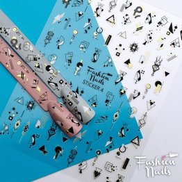 Fashion Nail Sticker ST04