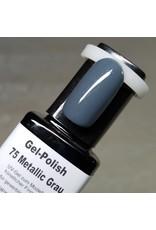 10ml Gel-Polish 75 Metallic Grau