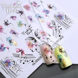 Nail Wraps metallic m282