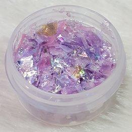 Nail Art Glitter Flakes 06 - Lila