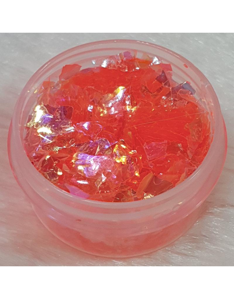 Nail Art Glitter Flakes 12 - Orange