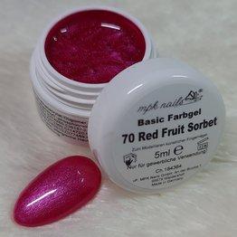 Basic Farbgel 70 Red Fruit Sorbet