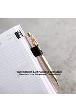 Stifthalter aus Metall mit Klemmfunktion