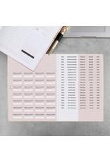 Stickerbogen (2er Set) für Terminplaner