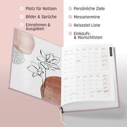 Terminplaner / Kalender 2021 Nagelstudio