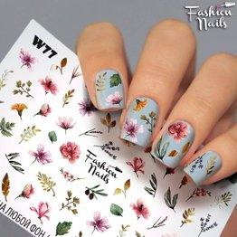Nail Wraps Weisse Tresse W77