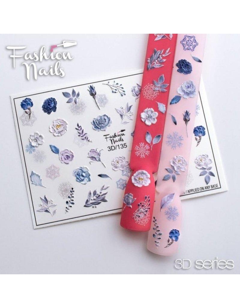Nail Wraps 3D 135