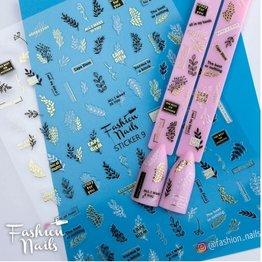 Fashion Nail Sticker ST09