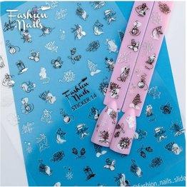 Fashion Nail Sticker ST14
