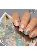 Nail Wraps metallic m290