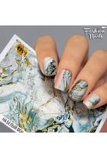 Nail Wraps metallic m291