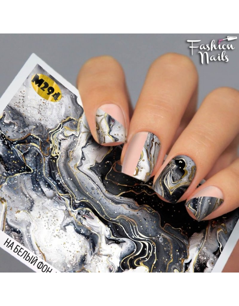 Nail Wraps metallic m294