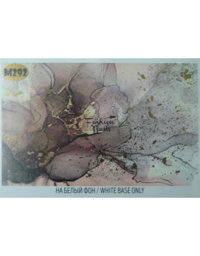 Nail Wraps metallic m292
